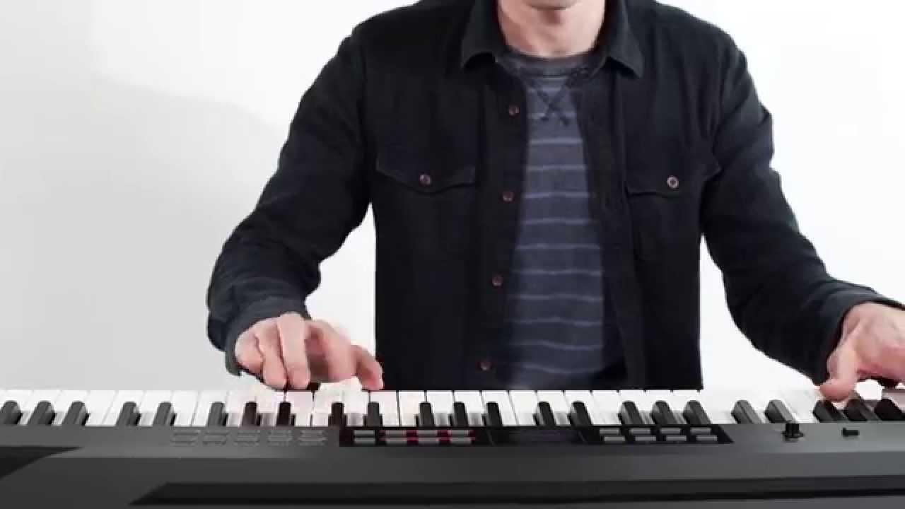 alesis coda pro digital piano w built in sound system youtube. Black Bedroom Furniture Sets. Home Design Ideas