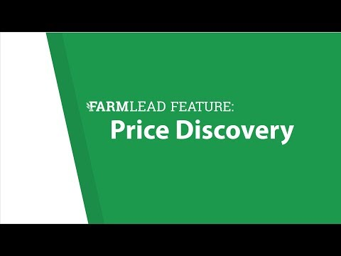 FarmLead Feature: Price Discovery