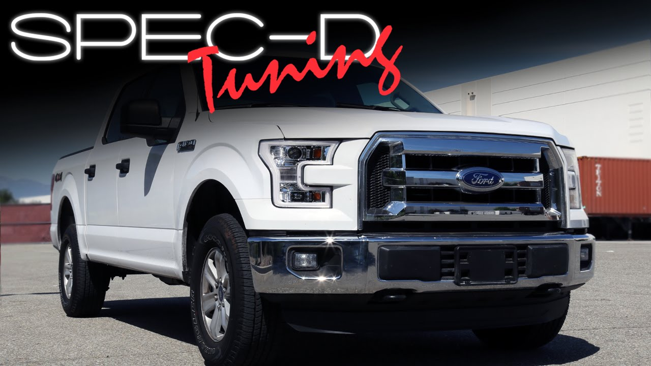 Specdtuning Installation Video 2017 Up Ford F150 Projector Headlights You