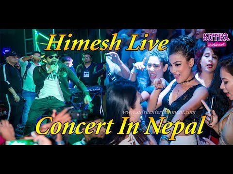Himesh Resmmiya ( Bollywood Top Music Director ) Live Concert in Nepal ( Karma Lounge & Bar) 2017