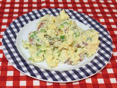 TTM'S Easy Red Potato Salad Recipe