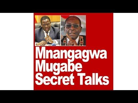 Mnangagwa, Mugabe Secret Talks, ZImbabwe Latest Breaking News Today