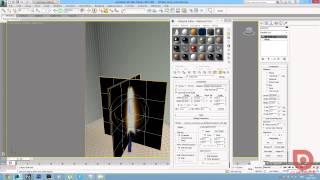 3Ds Max + Corona Render. Пламя свечи (Урок 3d Max)