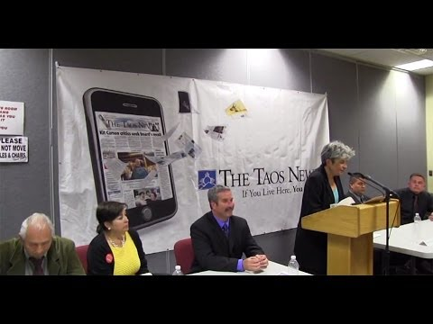 TAOS COUNTY SHERIFF CANDIDATES FORUM - May 7, 2014