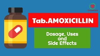 Tablet Amoxicillin 500mg and 250mg – Amoxicillin Dosage, Uses, Overdose and Side Effects