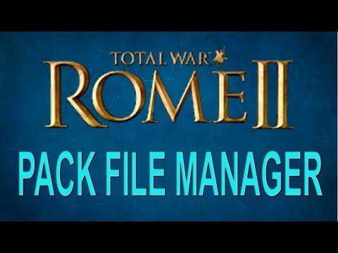ROME II - PACK FILE MANAGER - DESCARGAR, INSTALAR Y MODIFICAR JUEGO