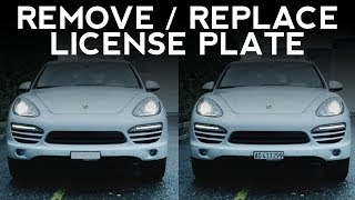After Effects Tutorial: Remove/Replace a License Plate