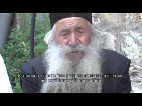 Sfaturi Duhovnicesti de la Parintele Pustnic Gherasim din Sfântul Munte Athos - YouTube