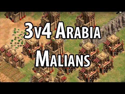 3v4 Arabia - Malians