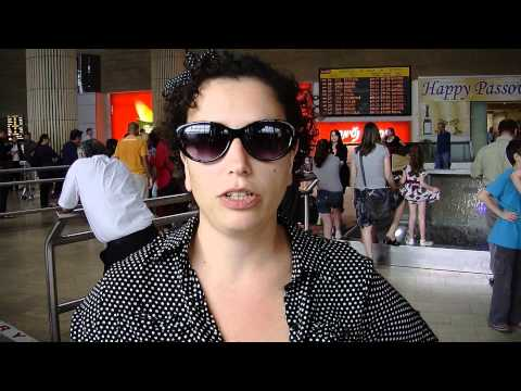 A pro palestinian fly-in to Ben Gurion airport, Israel 15.4.2012.wmv