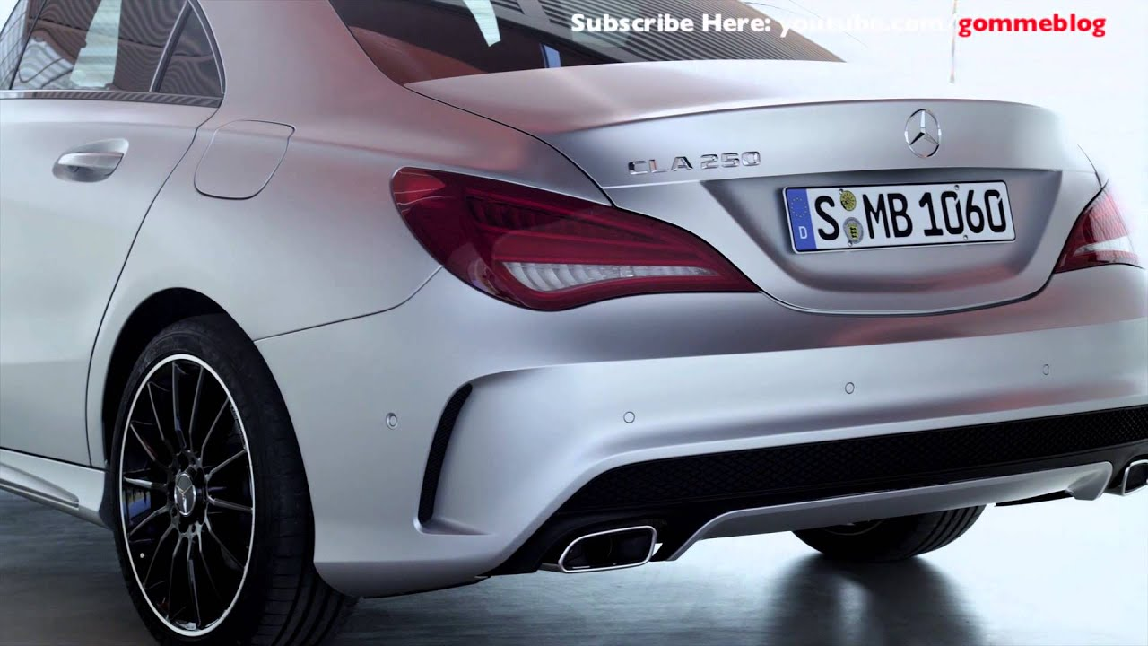 2014 Mercedes CLA 220 CDI - Exterior & Interior View - YouTube