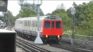 London Underground Trains At Turnham Green Station 05/09/2009.