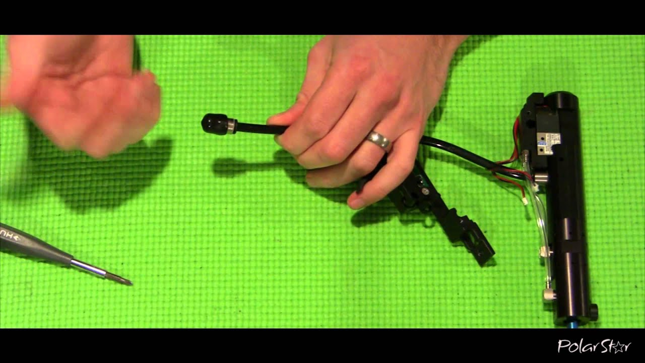 maxresdefault polarstar airsoft fev2 wire harness routing youtube Wire Harness Assembly at reclaimingppi.co