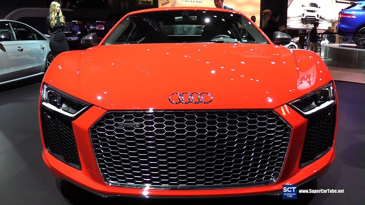 Audi R8 Interior Automatic 2017 Audi R8 V1...