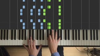 Download The Chainsmokers & Coldplay - Something Just Like This - Piano Tutorial + SHEETS MP3 song and Music Video