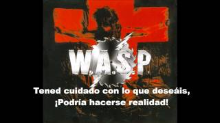 W.A.S.P: The Great Misconceptions of Me (Subtitulada en Español)