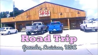 Road Trip: Gonzales, Louisiana, USA -Montreal and Beyond