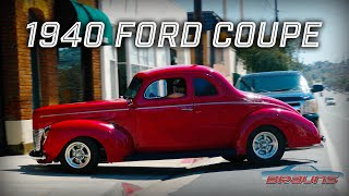1940 Ford Coupe in the Shop for Transmission Upgrades