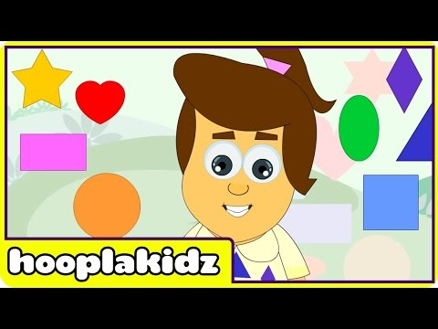 Learn About Shapes - Preschool Activity