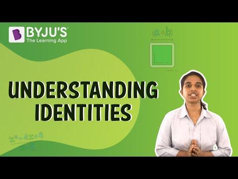 Class 6-10 - Understanding Identities