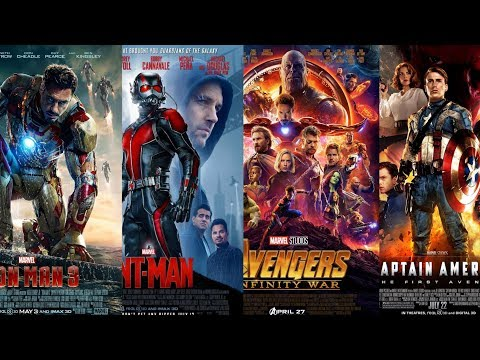 Marvel Cinematic Universe POSTER Rankings (Worst to Best): 2nd Edition