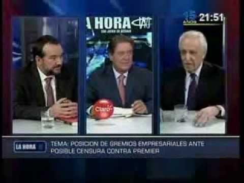"""SNI: """"Vemos con preocupación la censura a Ana Jara"""""""