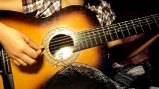 Chỉ là giấc mơ guitar cover by Nắng ^^
