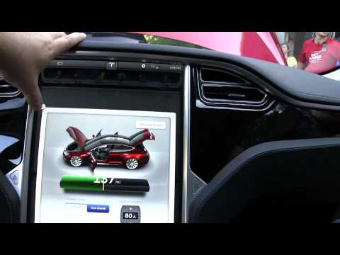 Model S Infotainment and Instrument Cluster