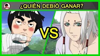 Naruto: Rock Lee vs Kimimaro - QUIÉN DEBIÓ GANAR