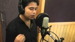 Manish Pathak Main Yahaan hoon(Udit Narayan) karaoke cover- Veer zaara 2004