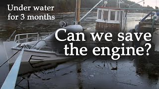 Can the engine be saved after 3 months in salt water? (Glimt - Part 3)