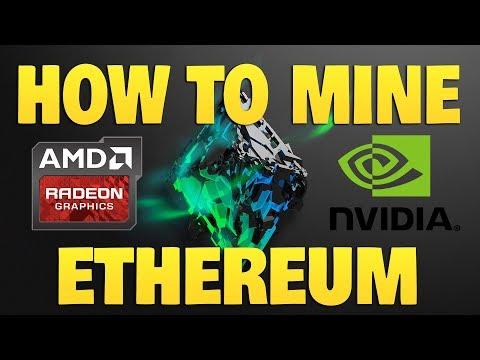 How To Mine Ethereum - Full Tutorial (Nvidia or AMD | Windows 10)