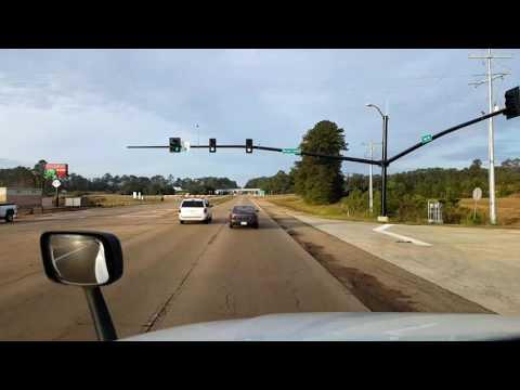 Bigrigtravels Live! - McComb to Jackson, Mississippi - Interstate 55 - November 9, 2016
