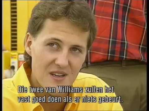 Michel Schumacher & Martin Brundle in 1992