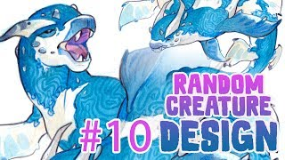 Water Bull • Random Creature Design #10