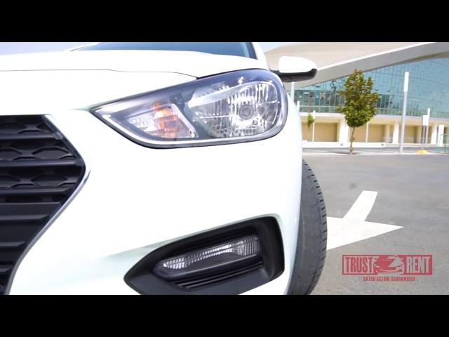 Hyundai Accent / TRUST rent a car Baku