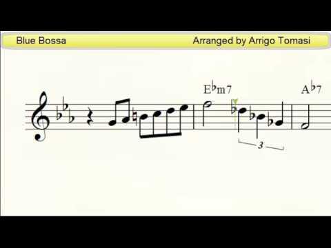 Blue Bossa  Jazz Accordion sheet music
