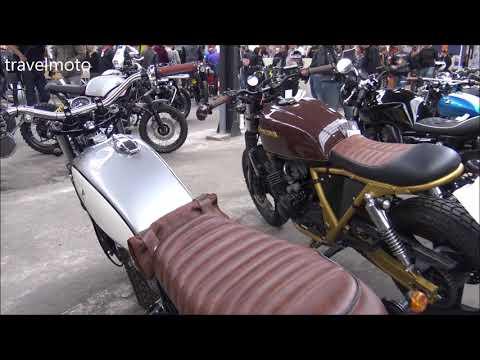 Cafe racer custom exhibition