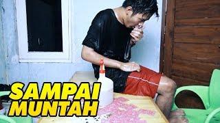 CHALLENGE TERPARAH SAMPAI KAYAK GINI !!!