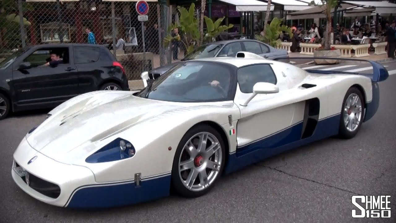 maserati mc12 overview and driving in monaco youtube. Black Bedroom Furniture Sets. Home Design Ideas