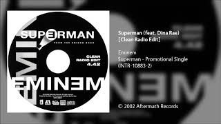 Eminem - Superman (feat. Dina Rae) [Clean Radio Edit]