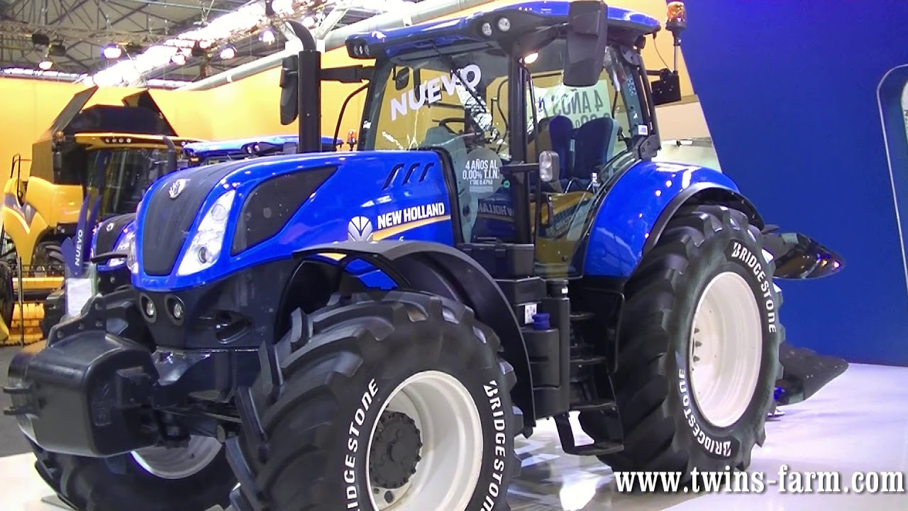FIMA 2018  New Holland T7 Serie S