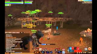 ArcheAge Best Low Level Mining (Iron Vein) Cave & Pet Armor (36 Minute ArcheAge Gameplay)