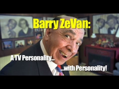 Barry ZeVan:  A TV Personality With Personality!