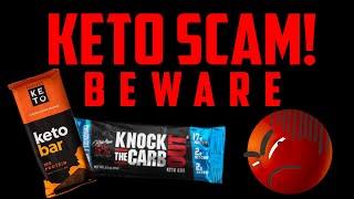Pro Comeback - Day 75 - Keto Protein Bars are SCAMS - RANT!