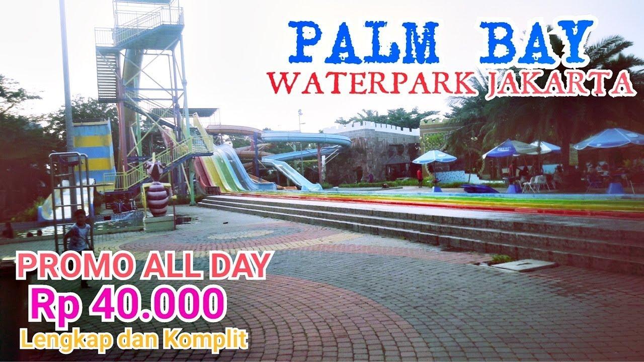 Palm Bay Waterpark Jakarta Taman Surya Cengkareng Wahana Boomerang Slide