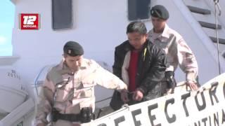 Puerto Madryn: capitán de barco potero chino hundido