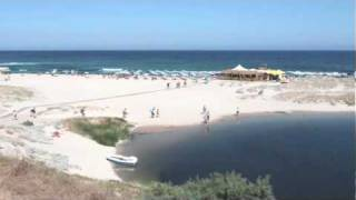 Остров Сардиния - Валледория,  Пляж Сан Пьетро  /  ИТАЛИЯ(, 2010-01-25T09:19:42.000Z)