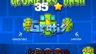 35 free stars pack -- Geometry Dash -- darkuter