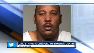 Three Milwaukee County jail staff members charged in dehydration death of inmate Terrill Thomas